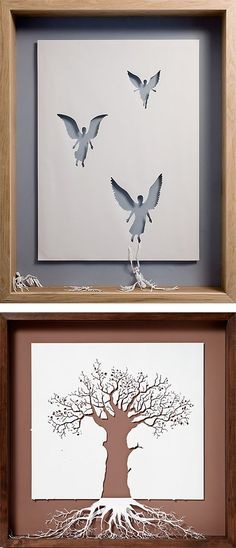 Paper Cut Sculptures by Peter Callesen | Inspiration Grid | Design Inspiration