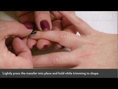 DIY Nails: Nail Transfers