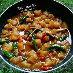 Resep masakan harian Ramadhan instagram Indonesian Food, Chili, Soup, Recipies, Food And Drink, Menu, Asian, Cooking, Beverages