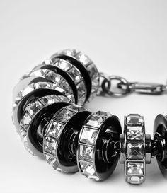 Womens Thalia Bracelet (Hematite) | ALLSAINTS.com