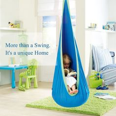 Toys 5 Year Old Girls - Christmas Gifts Girls - OUTREE Kids Pod Swing Seat Hammock