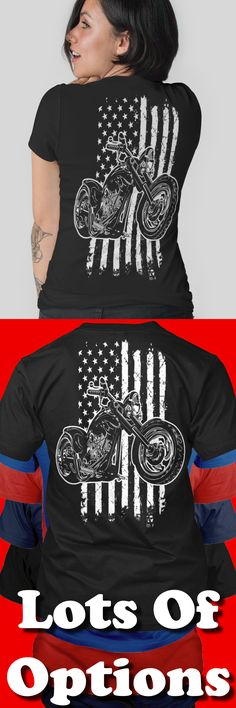Biker Shirt: Are You An American Biker? Great Motorcycle Gift! Lots Of Sizes & Colors. Like Custom Motorcycles, Baggers, Choppers, Harley Davidson Bikes or the Biker Life? Strict Limit Of 5 Shirts! Treat Yourself & Click Now! https://teespring.com/DT63-425