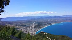 At an altitude of 650 meters, lies the monastery of Saint Patapios founded in 1952. A spot with stunning views of the #Corinthian gulf and not only!