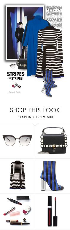 """""""If you're not willing to risk the unusual, you'll have to settle for the ordinary"""" by blonde-bedu ❤ liked on Polyvore featuring Fendi, Karen Millen, Marco de Vincenzo and Christian Dior"""