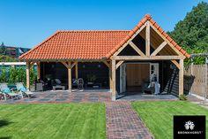 Back Garden Design, Backyard Garden Design, Backyard Landscaping, Garden Buildings, Garden Structures, Outdoor Structures, Patio Deck Designs, Carport Designs, Wooden House Plans