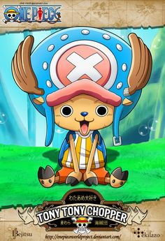 One Piece - Tony Tony Chopper by OnePieceWorldProject on deviantART