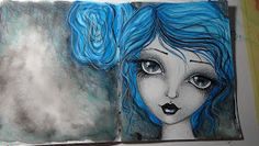 Whimsical Portraits Workshop!!!   In this workshop we will be drawing   beautiful big eye girls!   This is a mixed media workshop and   I w...