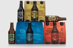 Mac's Craft Beers Packaging by Shine Limited