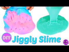DIY GIANT FLUFFY SLIME!  POKING SLIME!  NO BORAX, LIQUID STARCH OR DETERGENT! - YouTube