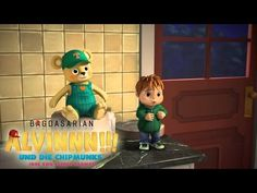 Alvinnn!!! Und die Chipmunks - Der sprechende Teddy (Trailer) - YouTube