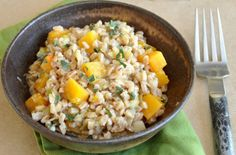 Farro Risotto With Leeks and Butternut Squash    Sinful (Tasting!) Whole-Grain Risotto Recipes