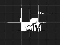 MTV (animation) by Nicolas Girard (Toronto) Text Animation, Animation Reference, Design Ios, Logo Design, Motion Design, Design Thinking, Motion Graphs, Motion Logo, Logos