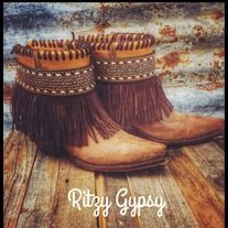 Gorgeous+custom+one+of+a+kind+Gypsy+Boots