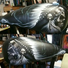 2016 Indian Motorcycle tank skull concept
