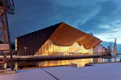 ALA Architects, Kilden Theater- und Konzerthaus, Kristiansand, Norwegen. (Foto: ALA Architects)