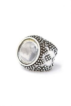 low luv by erin wasson - magnifier ring (silver plated) - HOT HOT HOT!