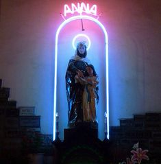 Neon Church // See more from digital hoarder Monsieur EZ~Beat! @ https://www.pinterest.com/MonsieurEZBeat/©