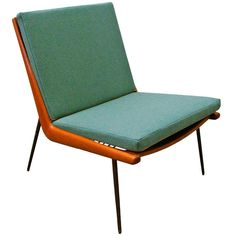 peter hvidt chair | Easy Chair Boomerang FD 134 Peter Hvidt & Orla Mølgaard Nielsen