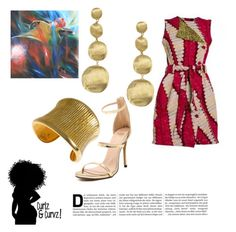 """Roots"" by daijah-escobar on Polyvore featuring Hissia, Marco Bicego and NOVICA"