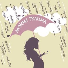 Questions to work through when processing birth trauma, good for doulas to discuss with clients re: birth history and for moms to work through with their partners.