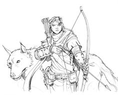 Tracker Team Pencils by Max-Dunbar on deviantART
