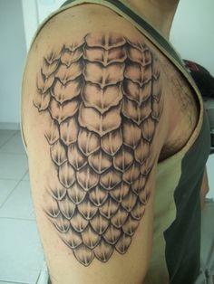 tatuagem de escamas - Pesquisa Google