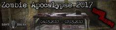 Dies ist die Zombie Apocalypse Surviving LArp Homepage der Lost Ideas Orga