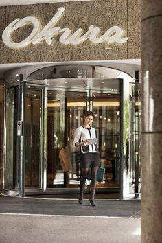 Entrance, Hotel Okura Amsterdam