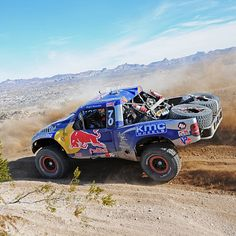 red bull trophy truck