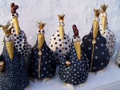 Catherine Collart: Gakkede høns, gruppebillede.