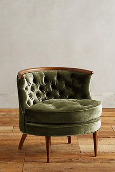 Slub Velvet Bixby Chair