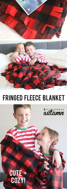 How to make an easy fringed fleece blanket (no knots 2019 I love this pretty fleece blanket with a fringed edge. How to make a fleece blanket. The post How to make an easy fringed fleece blanket (no knots 2019 appeared first on Blanket Diy. No Sew Fleece Blanket, No Sew Blankets, Fleece Hats, Baby Blankets, Flannel Blanket, Throw Blankets, Sewing Patterns Free, Sewing Tutorials, Sewing Projects
