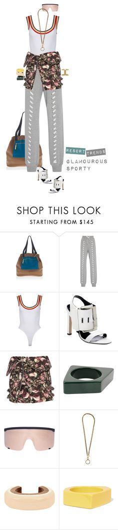 """""""from gym with love"""" by nandusho ❤ liked on Polyvore featuring Versace, Jonathan Simkhai, Manolo Blahnik, Givenchy, Marni, Mykita, Chanel, Lanvin, versace and manoloblahnik"""