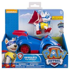 SAM Paw Patrol Apollo's Pup Mobile Vehicle and Figure : Target