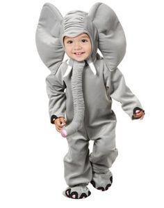 Espectacular elefante!! #disfraz #costume #halloween                                                                                                                                                      Más