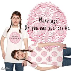 """Check out my new design submission """"Love or Marriage!"""" on @threadless https://www.threadless.com/designs/love-or-marriage"""