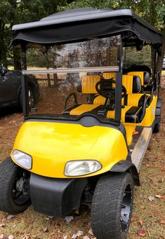 Customize your golf cart by coordinating the colors of your paint, top and seat covers. #customizedgolfcart Custom Golf Cart Bodies, Custom Golf Carts, Golf Cart Seat Covers, Golf Cart Seats, Custom Body Kits, Cover Style, Fender Flares, Hawkeye, Beach Pictures