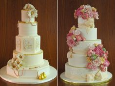 The Golden Touch – Wedding Cakes with a touch of gold. | Contemporary Bride