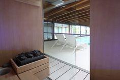 Trasformazione di un fabbricato anni '60 in villa moderna, con #parquet Alma