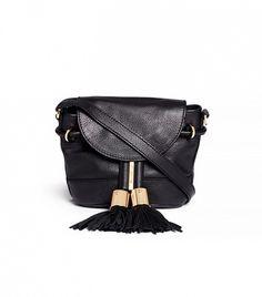 See by Chloé Mini Leather Crossbody Bag Luxury Purses, Luxury Handbags, Purses And Handbags, Black Crossbody Purse, Tote Purse, Crossbody Bags, Vintage Purses, Fashion Bags, Women's Fashion
