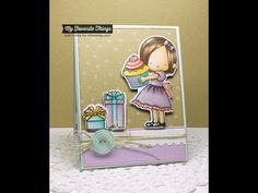 Sweet Birthday Wishes Stamp Set from My Favorite Things - YouTube #mftstamps