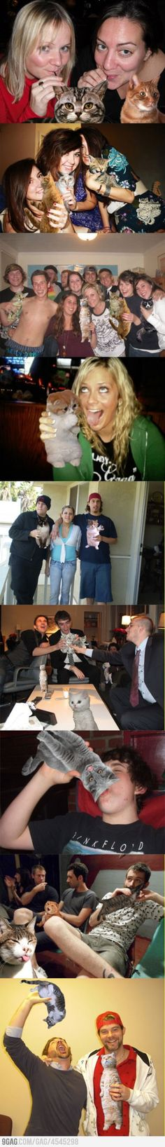 How to properly hide alcohol in your Facebook pictures #cat #alcohol