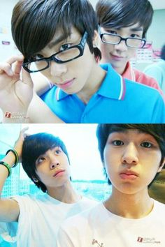 #Shinee they were younger, it is cute ♥