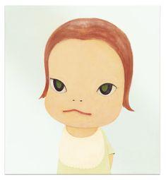 yoshitomo nara(1959- ), baby blue, 1999. acrylic on canvas, 120 x 110 cm. sotheby's