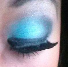 Aqua blue eyes