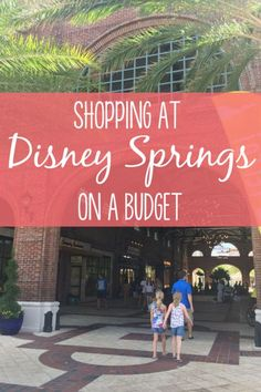 The newly-renovated Disney Springs shopping district at Walt Disney World is a shoppers paradise. Flagships stores and boutiques make it a destination for vacationers and locals alike. Find out about shopping on a budget at Disney Springs, and what to buy