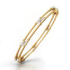 Bracelets for Women – Fine Sea Glass Jewelry Gold Bangle Bracelet, Diamond Bracelets, Diamond Jewelry, Gold Jewelry, India Jewelry, Gold Bangles Design, Silver Bangles, Sterling Silver Bracelets, Gold Armband