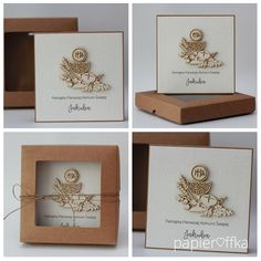 papieroffka Place Cards, Gift Wrapping, Place Card Holders, Frame, Gifts, Scrapbooking, Diy, Invitations, Weddings