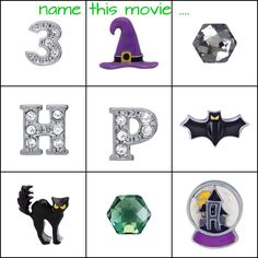 Name that movie!  Origami Owl online / facebook party games.