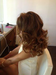 Beautiful blowout! Pin curls are amazing!